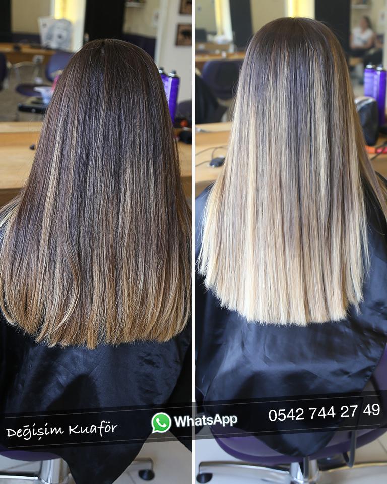 2019 Saç Renkleri Bayan Değişim Kuaför