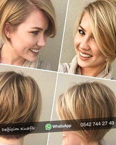 2019 Saç Kesim Modelleri Bayan Değişim Kuafördeğişim Kuaför