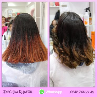 bayan saç renkleri 2017